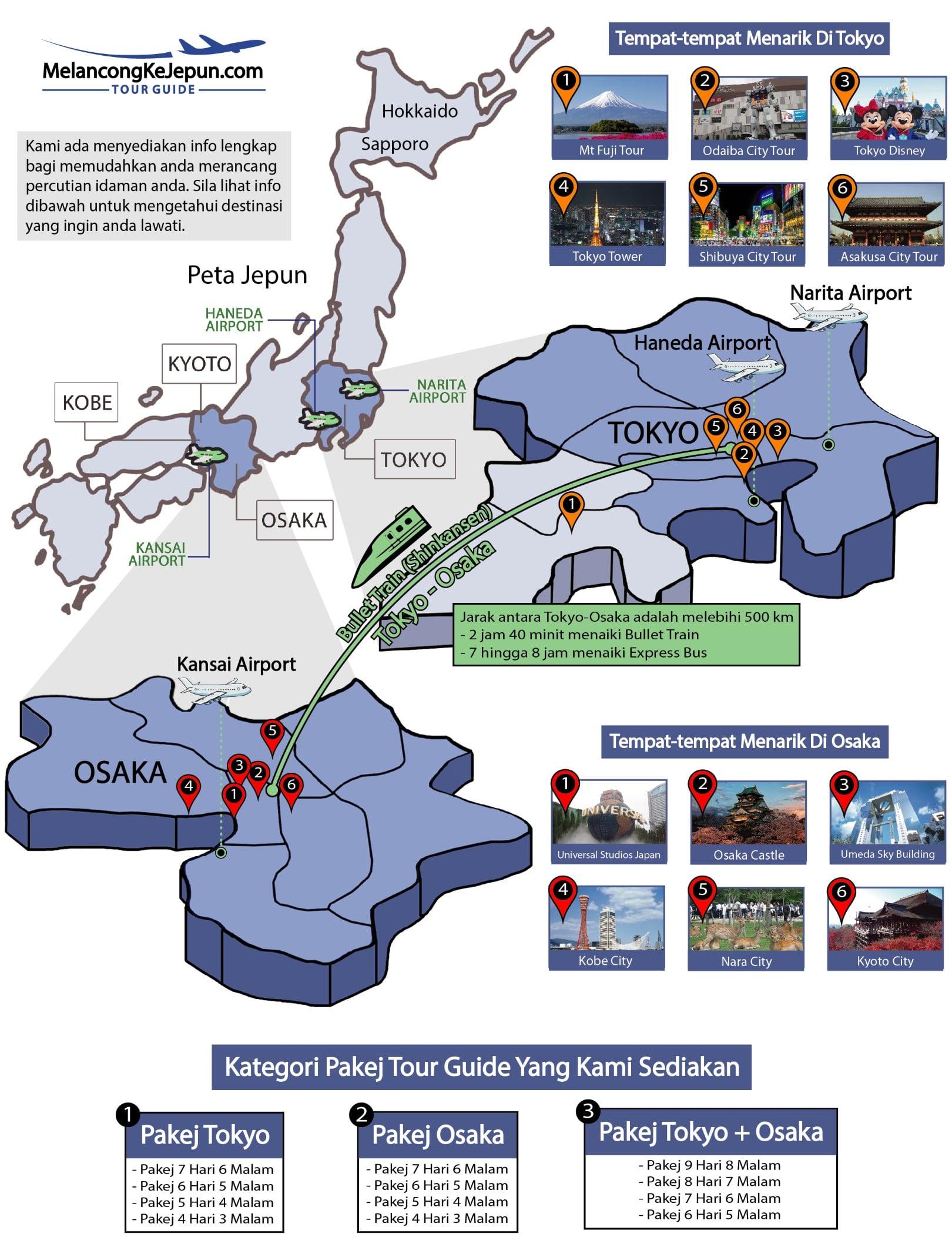 Peta-Jepun-Pakej-Murah-Tokyo-Osaka