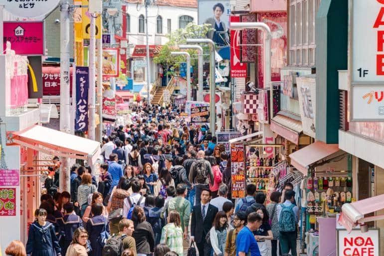 TEMPAT FESYEN POPULAR DI TOKYO